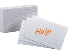 Indexcards